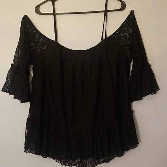 New York & Company Tops - Lace blouse